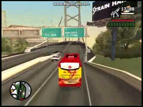 PO.Haryanto Bus Indonesia GTA San Andreas