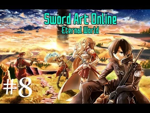 Sword Art Online (Video Game): Part 8 - Boss Room found and Asuna