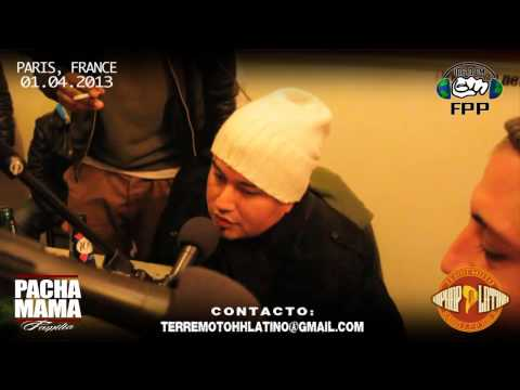 RADIO TERREMOTO HIPHOP LATINO (Paris,Fr) // CAPITULO 5 - 01.04.2013
