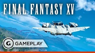 7 Minutes of Touring Final Fantasy XV's World in Your Flying Car