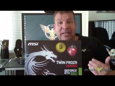 MSI Twin Frozr Gaming GTX 650Ti Unboxing + Review