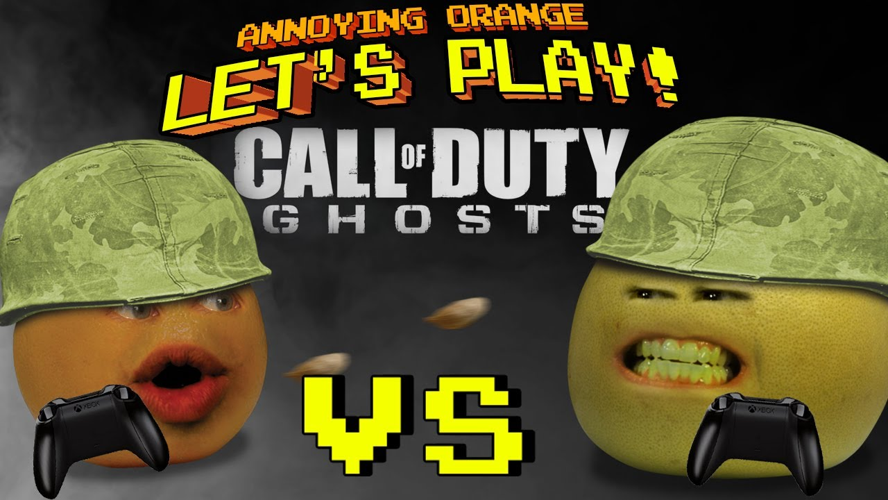 Annoying Orange Let's Play! - Call of Duty Ghosts (Orange ...