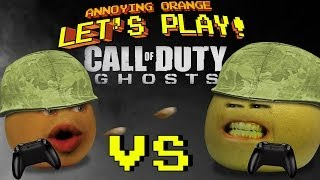 Annoying Orange Let's Play! - Call of Duty Ghosts (Orange vs Grapefruit)