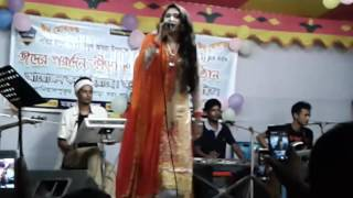 Hot Girl Village Stage Song 2017 । Ami Dana Kata Pori । Village recording concert video 2017