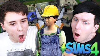 DIL'S GRAND DESIGN - Dan and Phil Play: Sims 4 #43
