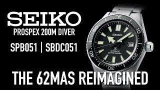 Seiko Prospex 200m Diver SPB051 | SBDC051 - The 62MAS Reimagined