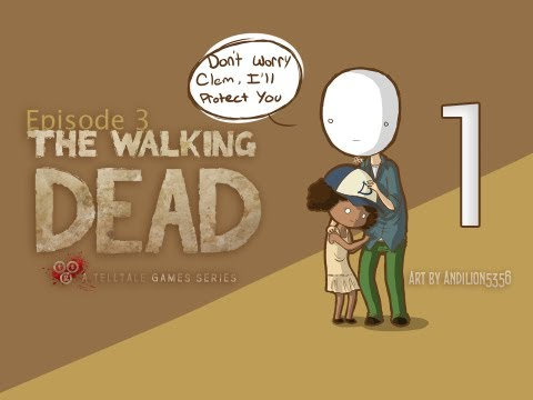 Cry Plays: The Walking Dead [Ep3] [P1]