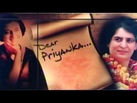Indira Gandhi's letter to Priyanka