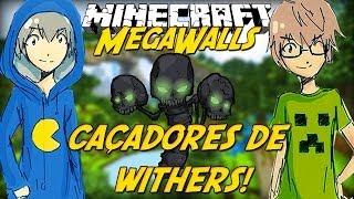 Minecraft: Caçadores de Withers! (Mega Walls)