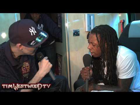 Westwood - part 4 *EXCLUSIVE* Lil Wayne backstage in London Video