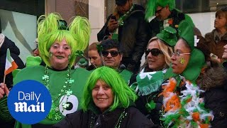 Oldest, largest St. Patrick's Day Parade in New York City - Daily Mail