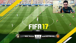 FIFA 17 FULL GAMEPLAY REAL MADRID vs MANCHESTER UNITED 1080 FULL HD 60 FPS