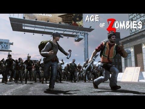 O melhor War Z grátis - Age of Zombies
