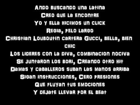 Jennifer Lopez Ft. Wisin Y Yandel Follow The Leader Lyrics On Screen video