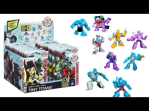 Transformers Tiny Titans - Series 2 [Blind Bags Unboxing]