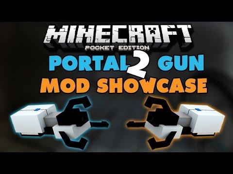 Portal 2 Mod - Minecraft PE: Mod Showcase [0.13.1]