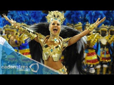 Inicia carnaval en Río de Janeiro 2015