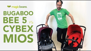 Bugaboo Bee 5 2017 vs Cybex Mios 2017 Stroller | Comparisons | Reviews | Ratings | Magic Beans