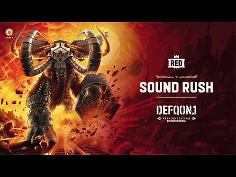 The Colors of Defqon.1 2018 | RED mix by Sound Rush