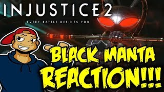 BRYAN FURY WALK! Injustice 2 - Black Manta Gameplay Trailer LIVE REACTION!/THOUGHTS!
