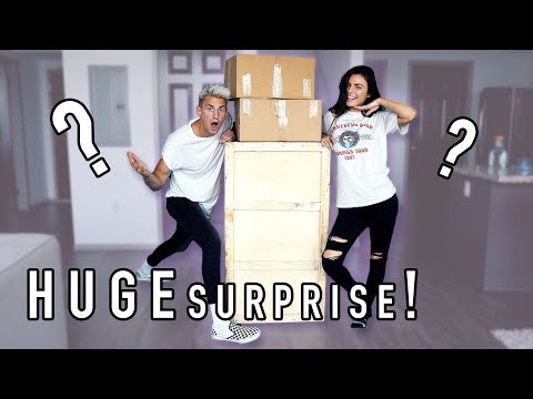 WHAT'S IN THE BOX?! GIRLFRIEND SPENT $1,200 ON THIS SURPRISE!