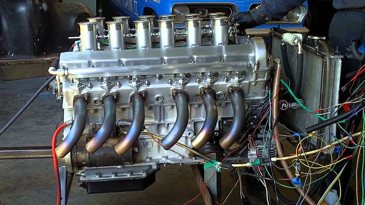 Jaguar Fire Engine Jaguar Xj-13 Engine 4th Firing