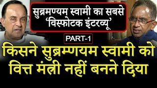 BJP Leader   Subramanian Swamy Exclusive Interview with Vijai Trivedi   Part-1