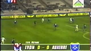Résumé   Olympique Lyonnais   AJ Auxerre 1996   32ème de Finale de la Coupe de France