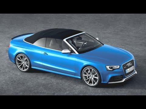 Audi RS5 Cabrio - geballte Kraft unter freiem Himmel