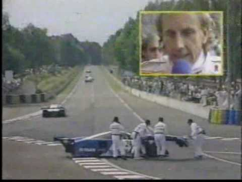Live coverage from ESPN. First 30 minutes of the 1989 24 Hours of Le Mans. Last race before they put in the two gay chicanes on the Mulsanne.