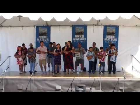 Ukulele Jams performance at Nikkei Matsuri - Japanese Festival - April 26, 2015