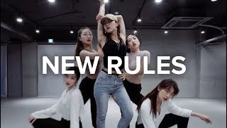 Download Lagu New Rules - Dua Lipa / Jin Lee Choreography Gratis STAFABAND