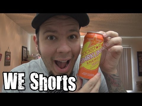 WE Shorts - Rockstar Sparkling Energy Peach
