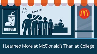 I Learned More at McDonald