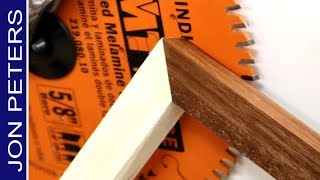 Make Perfect Miter Cuts, Amazing Woodworking Jig