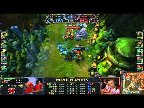 LoL World Championship M5 vs TPA (Game 2)