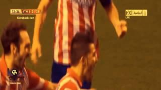 أول هدف لنيمار مع برشلونة في مباراة رسمية ضد أتلتيكو مدريد 21-8-2013