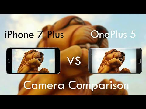 OnePlus 5 Vs iPhone 7 Plus Camera Comparison