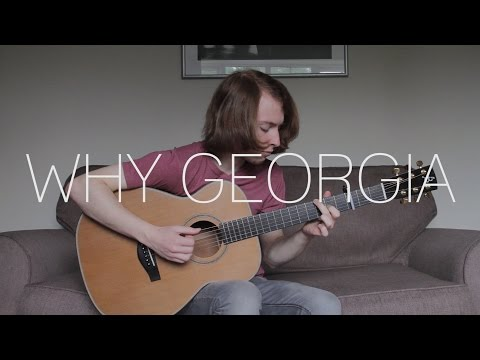 John Mayer - Why Georgia - Fingerstyle Guitar Cover By James Bartholomew