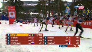 World Championship Falun 2015 Cross Country Skiing Skiathlon Men