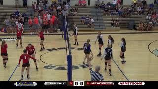 Meadville-Conneaut Girls HS Volleyball 9-19-17
