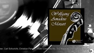 Stuttgarter Kammerorchester Violin Concerto No 3 G Major Kv 216 Rondo Allegro