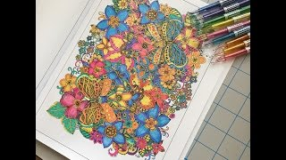 speed coloring in my coloring book double the fun