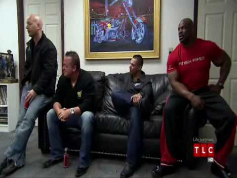 Ronnie Coleman on American Chopper