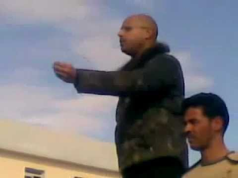 Libya - Saif al-Islam Gaddafi, new leader of the Libyan Resistance