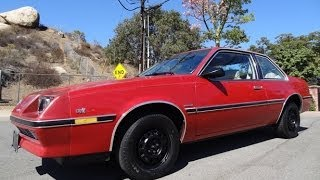 84 Buick Skyhawk Custom Coupe 2D J-Car Walkaround & Test Drive