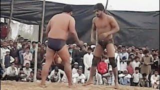 मौसाम अली पहलवान और जोरावर पहलवान दंगल कुस्ती घहानना सहारनपुर उत्तर प्रदेश