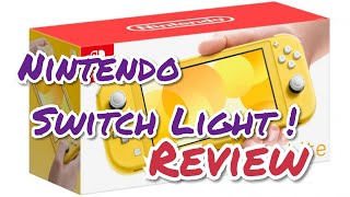 Nintendo Switch Light - Review (YELLOW)