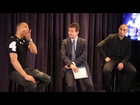 CHRIS EUBANK JR v ARTHUR ABRAHAM - FULL *UNCUT* PRESS CONFERENCE - FEAT. CHRIS EUBANK SNR