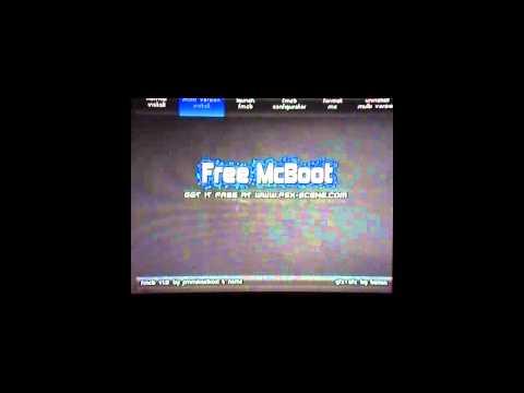 Instalar Free McBoot ps2 FAT